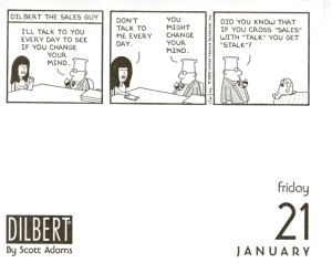 Dilbert on Sales.
